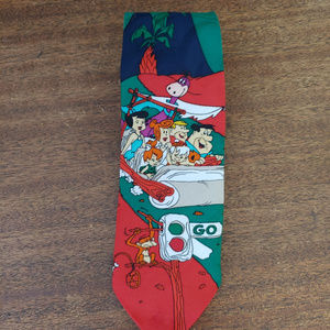 Flinstones Necktie Bedrock Hanna Barbera